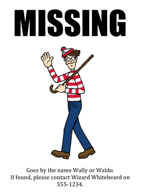 Where's Wally - Your Questions Answered