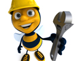 Diggers and Dealers Wrap - Busy Bees and Buzz words